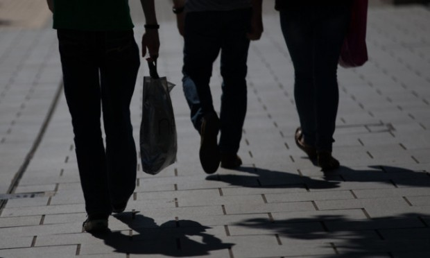 BRISTOL, ENGLAND - MAY 21:  Shoppers walk past shops on the main shopping street in Broadmead on May 21, 2015 in Bristol, England. According to figures released by the Office for National Statistics (ONS) UK retail sales rose by 1.2% in April, the strongest increase since November as the warm weather boosted sales.  (Photo by Matt Cardy/Getty Images)