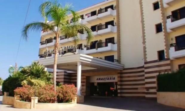 The Anastasia Club Beach Hotel in Protaras, Cyprus.