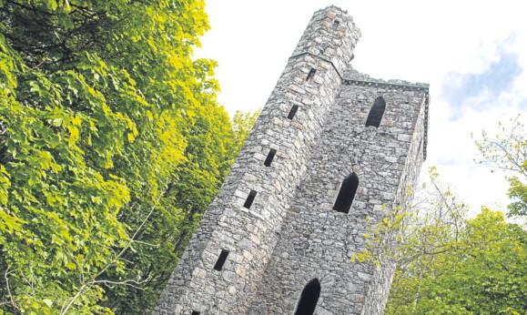 The 19th Century Binn Hill Tower has changed hands.