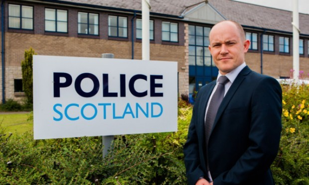 """Detective Inspector John Anderson is appealing for information following the """"terrifying"""" incident."""
