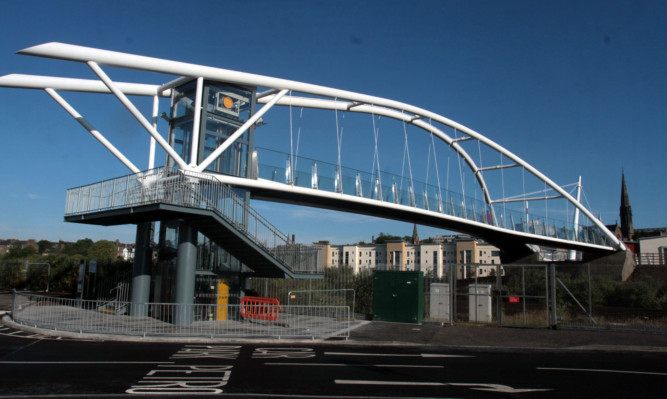 The new bridge has been well received in Dundee.