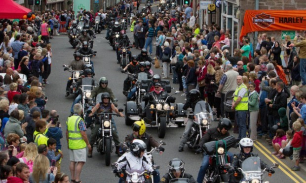 Organisers are expecting more than 400 Harley-Davidson owners to take part in Brechins Harley-Davidson in the City showcase event this weekend.