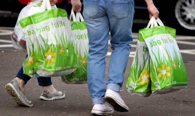 'Bags for life' and reusing bags has helped the public avoid the 5p charge.