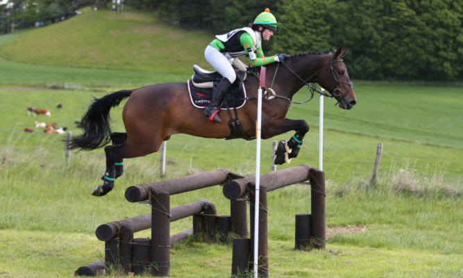 Open win: Leona Blacklaws scooped the red rosette from the open event class