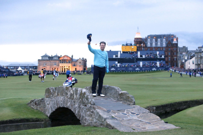Tom Watson says his British Open farewell on the Old Course earlier this month. St Andrews Links Trust said the year after an Open has historically brought increased demand for golf on its courses.