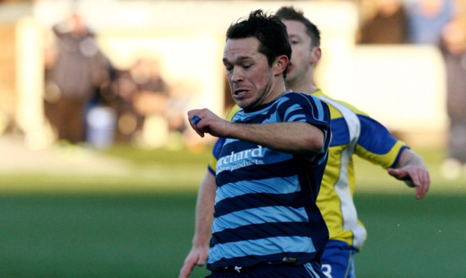 Derek Young: goal helped secure his first win in five visits to the national stadium.