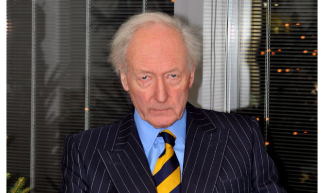 Algy Cluff, chairman and chief executive of Cluff Natural Resources.