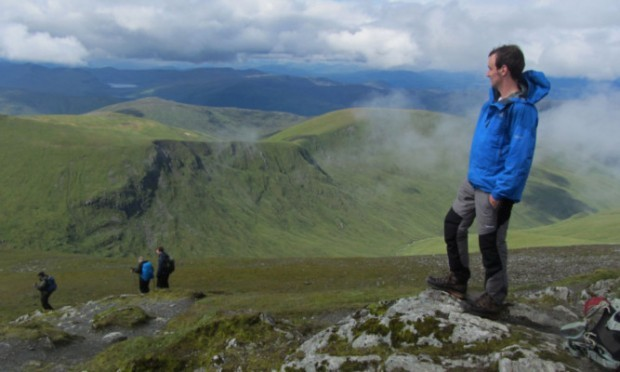 The main sponsor of one of Britains most gruelling races, the Great Kindrochit Quadrathlon, has donated money to help with the upkeep of paths on Ben Lawers.