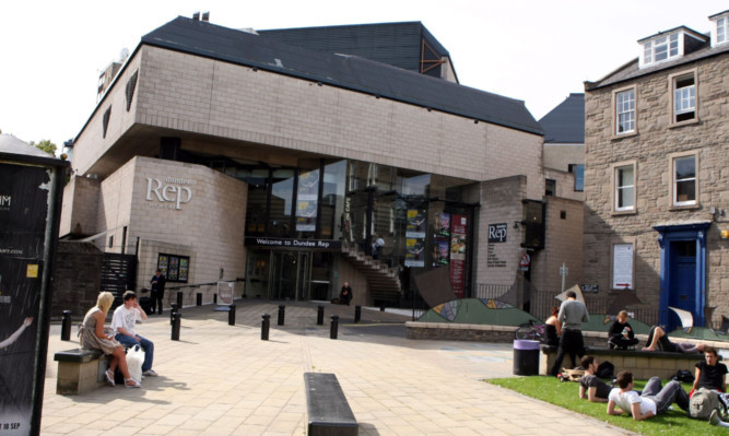 The Dundee Rep Theatre was one of the attractions picked out for praise.
