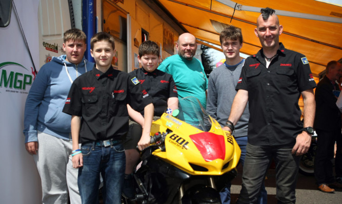 Ian Pert of Hedzup Racing is aiming to take nine youngsters to the Isle of Man.