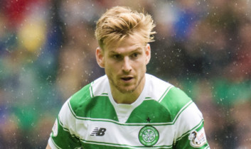 Stuart Armstrong in action for Celtic.