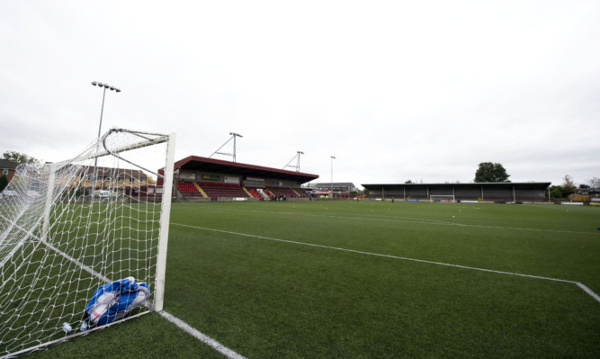 Ochilview, where East Strling FC currently play their home matches.