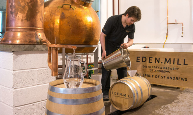 Eden Mills is one new local whisky distillery looking for an early pay-off with its own gin.