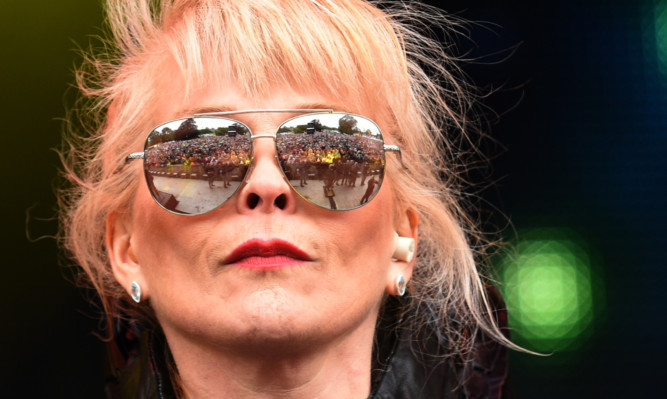 Toyah Willcox at this year's Rewind Festival near Perth.