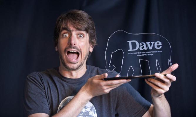 Darren Walsh has won the Dave Funniest Joke of the Fringe 2015 award at the Edinburgh Fringe.