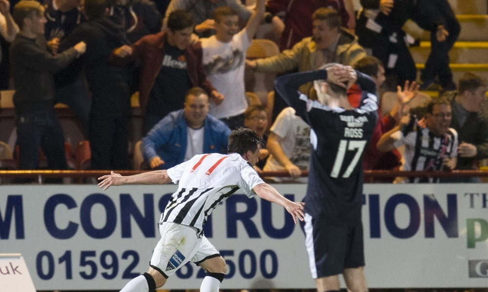 25/08/15 SCOTTISH LEAGUE CUP 2ND RND 