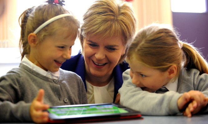 Nicola Sturgeon can learn from what is happening south of the border if she wants Scottish education to improve, says Jenny.