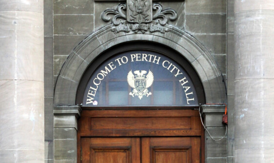 The doors to Perth City Hall will remain firmly closed to the public on Doors Open Day.