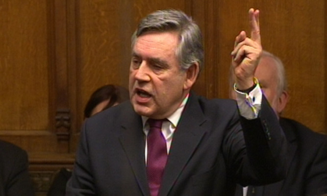 Gordon Brown is wrong to keep up the constitutional question debate, according to Jenny.