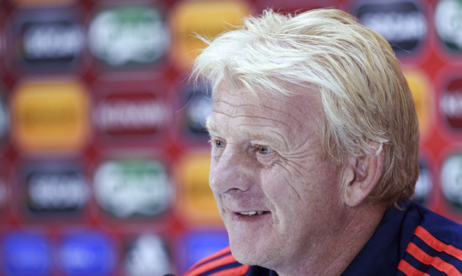 Scotland manager Gordon Strachan.