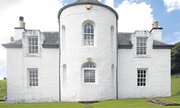 Castle Peroch, one of the more quirky estate properties included in the sale.
