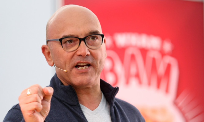 Gregg Wallace said people with allergies should give 48 hours notice before dining in restaurants.