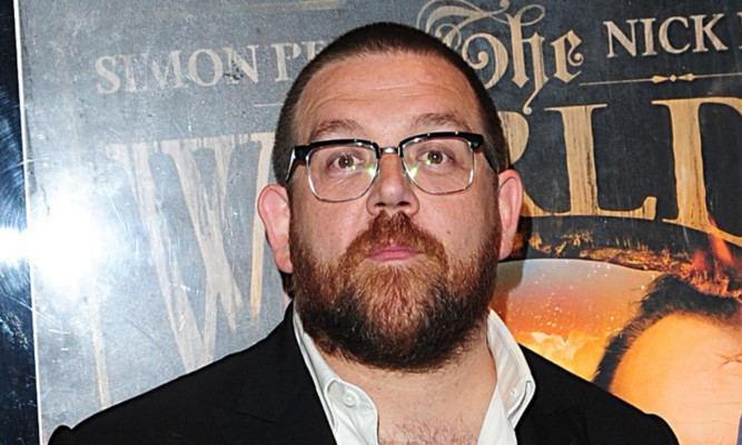 Nick Frost will be among the attendees at the festival.