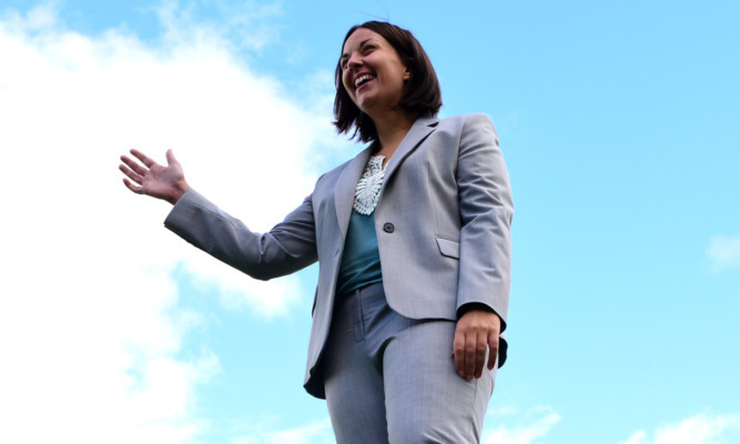 Kezia Dugdale is offering the hand of friendship to Yes voters  but Jenny feels she is putting her party before her country.