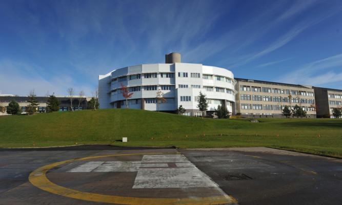 NHS Tayside runs Ninewells Hospital in Dundee.