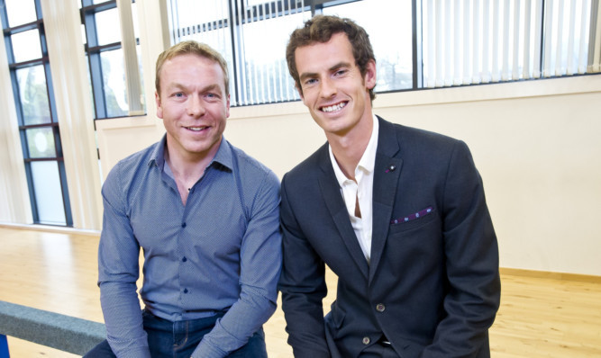 Sir Chris Hoy and Andy Murray know what it takes to succeed at the top level.
