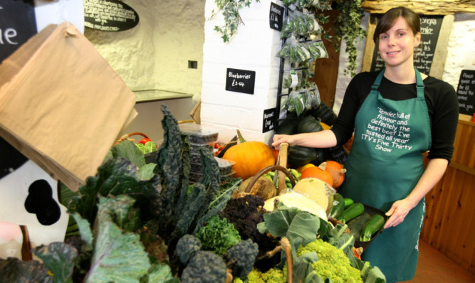 Ardross Farm Shop manager Nikki Storrar.