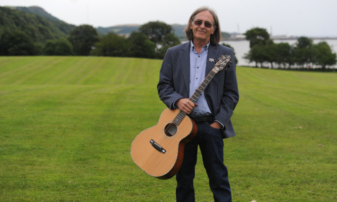 Co-founder and musical director Dougie Maclean.