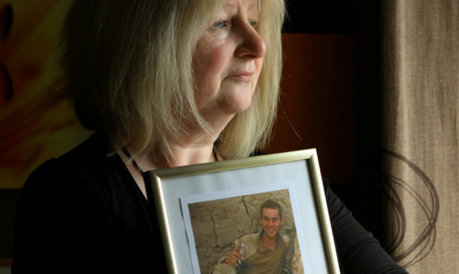 June Black's former Black Watch son Aaron committed suicide after returning from Asghanistan