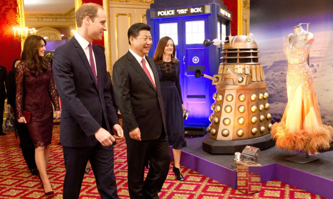 The Duke and Duchess of Cambridge met Chinese President Xi Jinping earlier this week.