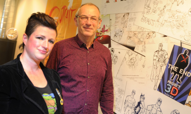 Tanya Roberts and Dave Gibbons will offer their expertise to new artists.