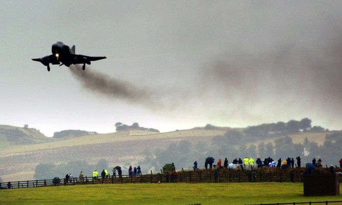 Military aircraft could be returning to the runway at Leuchars.