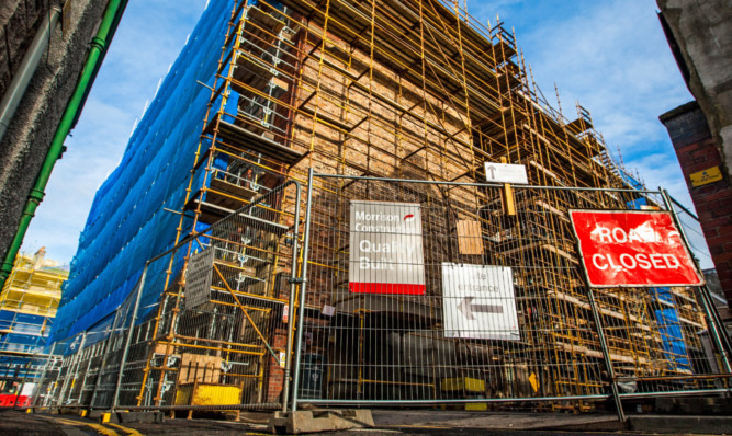 The council headquarters is undergoing a £9.7 million revamp.
