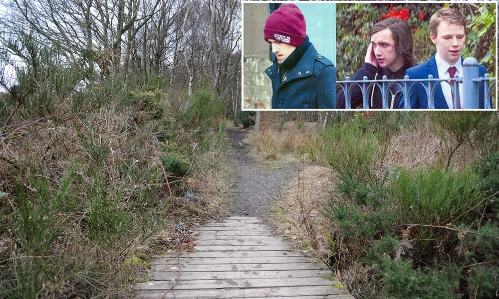 Kim Cessford - 09.03.14 - pictured is the entrance to Baldragon Wood, Clatto Country Park, Dundee where an alleged incident took place at the weekend