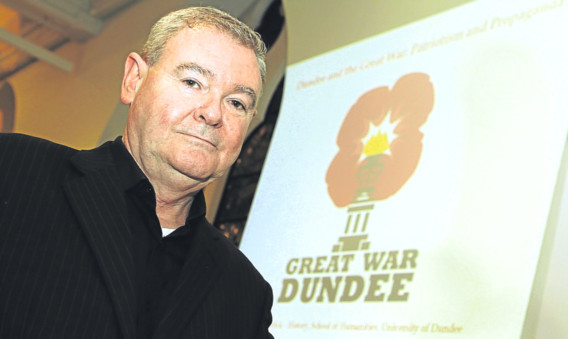 Dr Billy Kenefick of the Great War Dundee project.