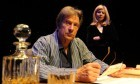Michael Brandon and Glynis Barber in rehearsals at the Rep.