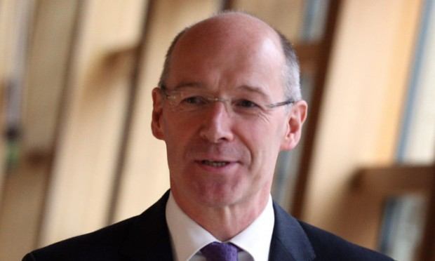 John Swinney has criticised cuts to services between Perthshire and Edinburgh.