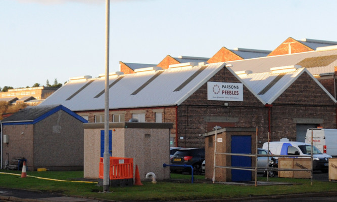 Parsons Peebles in Rosyth.