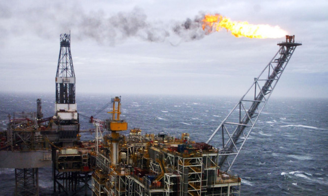 "Embargoed to 0001 Monday January 20  File photo dated 16/03/07 of an oil rig in the North Sea as a dwindling pool of engineering workers threatens a skills shortage in the oil and gas industry, a new report has warned. PRESS ASSOCIATION Photo. Issue date: Monday January 20, 2014. The trend is driving up pay to ""unprecedented"" levels in some areas, said a report by technical advisers DNV GL. The outlook for the sector this year is positive, but a shortage of skilled employees will be the main barrier to growth, said the report. See PA story INDUSTRY Skills. Photo credit should read: Danny Lawson/PA Wire"