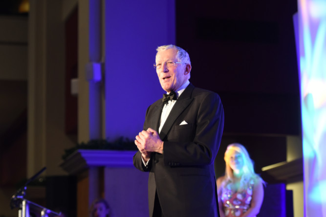 Nick Hewer hosts The Courier Business Awards at the Fairmont Hotel in St Andrews.