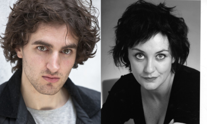 Actors Angus Miller and Lorraine McIntosh will be performing in Let the Right One In at the Rep next month.