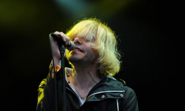 The Charlatans' lead vocalist Tim Burgess.