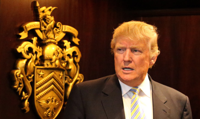 A petition has been raised urging the UK Govnerment to ban Donald Trump from Britain