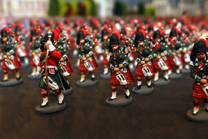 Gallery: Left, right, left Glamis Castle's new army of toy soldiers