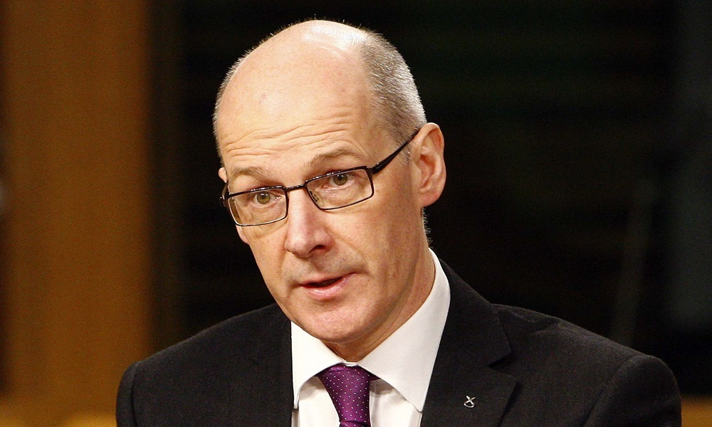 John Swinney, Cabinet Secretary for Finance, Constitution and Economy gives evidence to the Finance Committee as it continues its scrutiny of the Scottish Fiscal Commission Bill. 02 December 2015. Pic - Andrew Cowan/Scottish Parliament