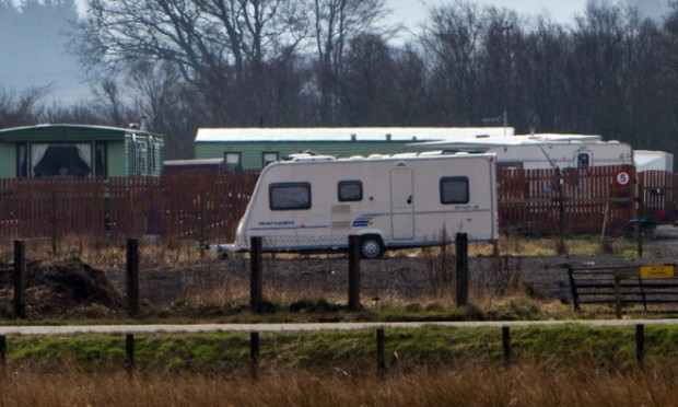 The Travellers site.